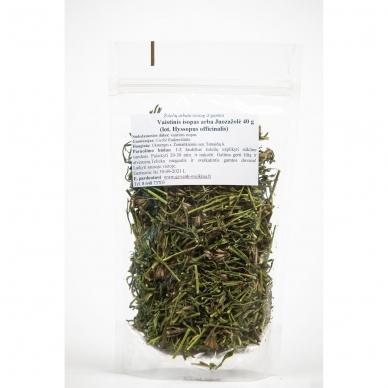 Juozažolių (vaistinio isopo) arbata